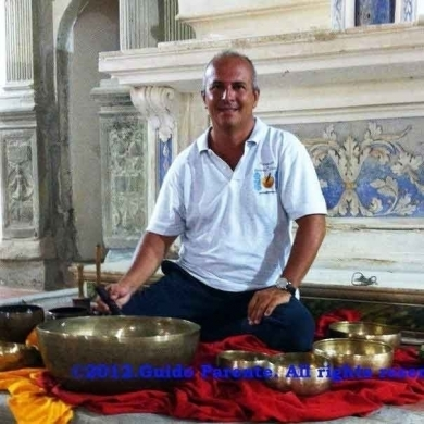 Naturopath and Operator in Therapeutic Touch  Mr. Guido Parente - Pranoterapia&Campana Tibetana®